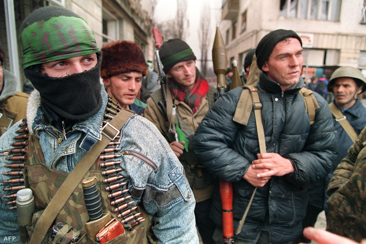 Csecsen harcosok 1996-ban