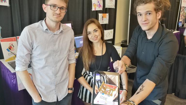 Esélyesek között a magyar csapat a Microsoft diákstartup-versenyén
