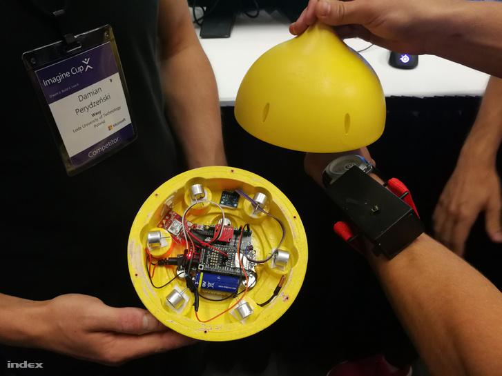 A lengyel csapat ezzel indult: big data és helyzetjelző bója, amivel biztonságosabb lehet a búvárkodás