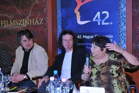 Bereczki Csaba, MMKA-nemzetközi kapcsolatok, Ulrich Gábor animációs filmrendező, Sós Mária filmrendező (Fotó: Soós Lajos, MTI)
