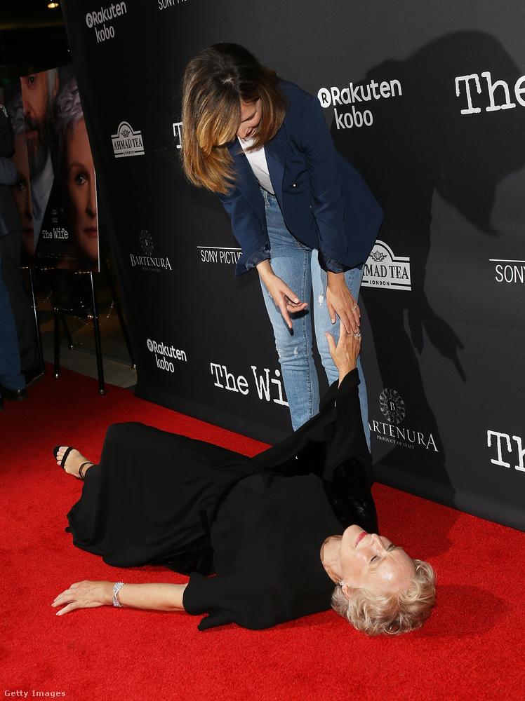 Rose Byrne próbálta felsegíteni Close-t.