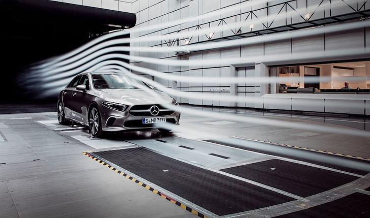 2019-Mercedes-Benz-A-Class-sedan-aerodynamics-3