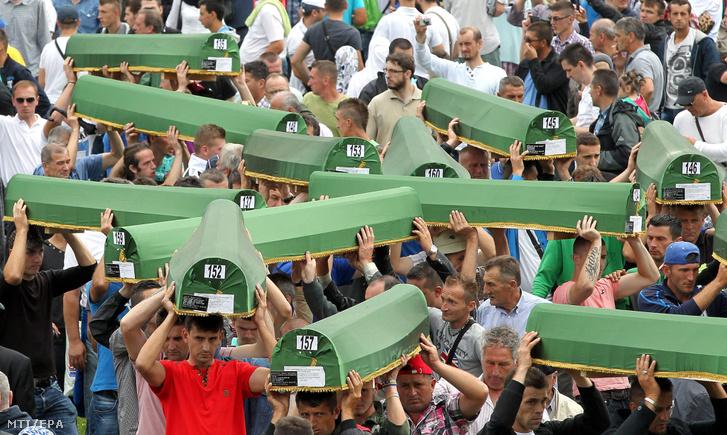 2014-ben, a srebrenicai vérengzés 19. évfordulóján 175 újonnan azonosított áldozatot temettek el