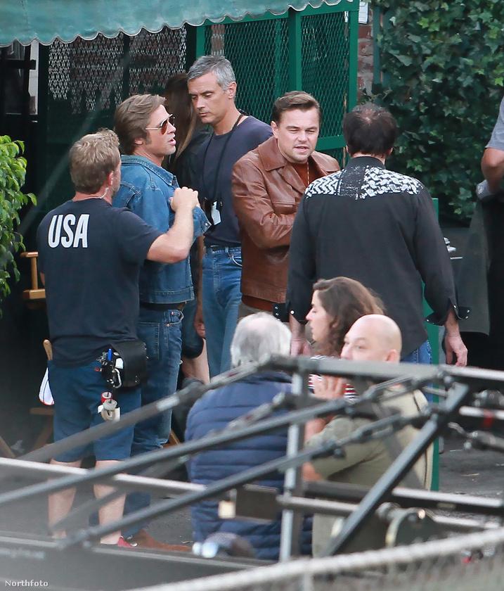 A film Los Angelesben játszódik és ott is forgatják, egy fotósnak sikerült befényképeznie a forgatásra.
