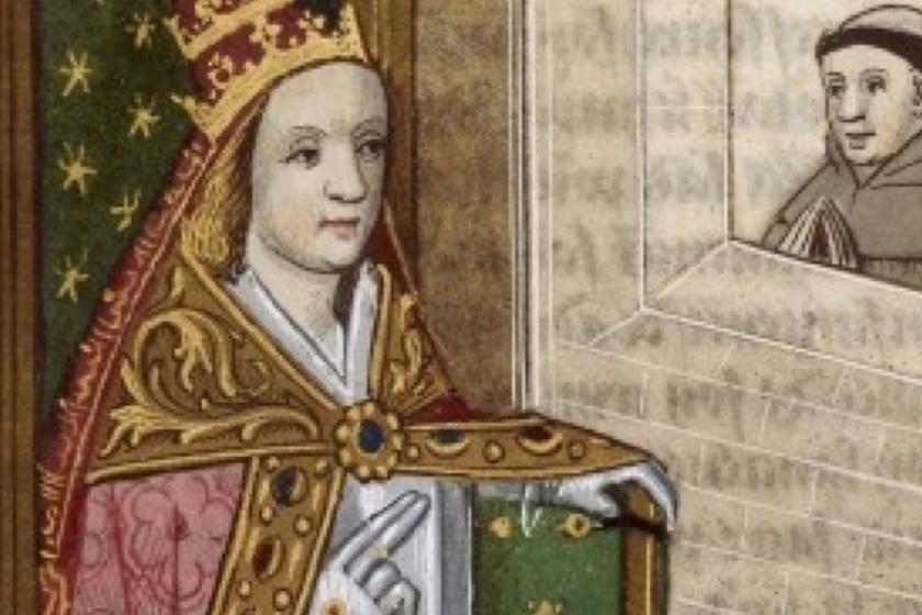 Feljegyzések szerint létezett egy női pápa is: Johannának hívták, de Johannes Anglicus álnéven két évig egyházfő volt, mígnem a legenda szerint egy körmenet során fény derült terhességére, és meglincselték.