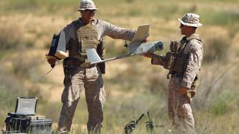 Drónrajokat irányíthatnak a tengerészgyalogosok