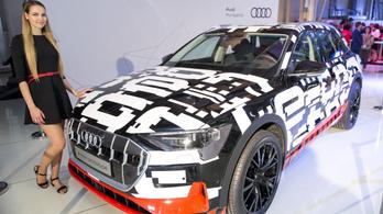 Elindult az elektromos motorok gyártása a győri Audiban