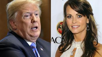 Nyilvános Trump tárgyalása a Playboy-modell elnémításáról