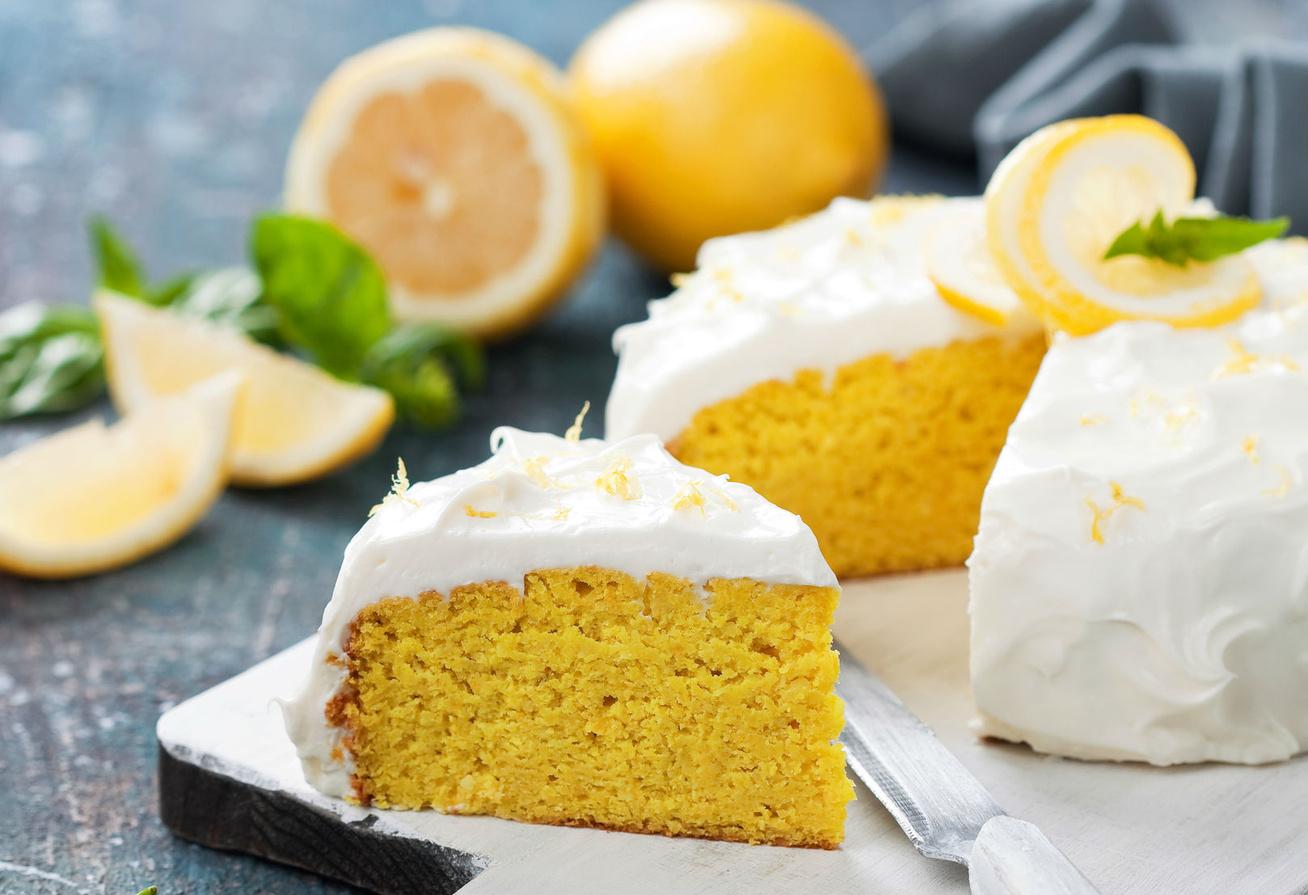 Gluténmentes, habos citromos süti: csak keverj össze mindent