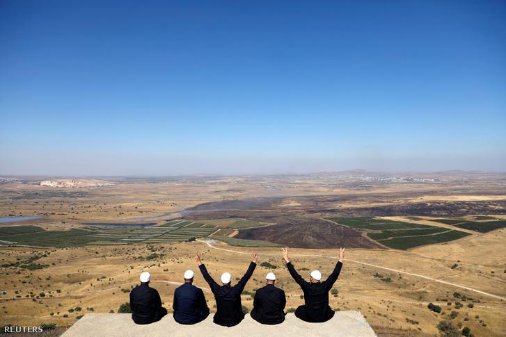 Drúzok, Izrael és Szíria határánál