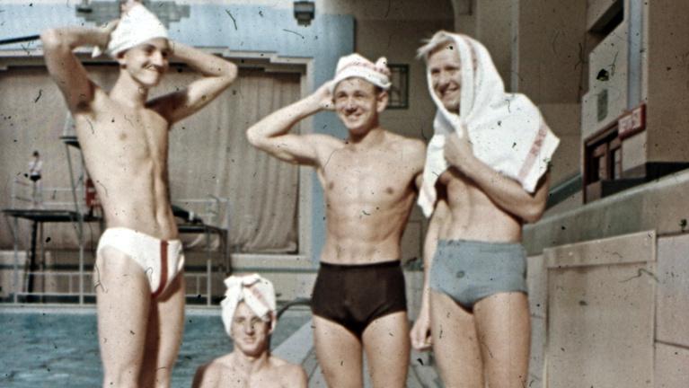 Az edzőlegenda színesben örökítette meg a forradalom utáni olimpiát
