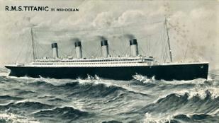 """""""Bárcsak itt lennél"""" – írta barátnőjének a Titanic utasa"""