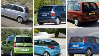 Tíz éve még olyan nagy slágernek számítottak, mint manapság az SUV-k, most használtként van belőlük választék