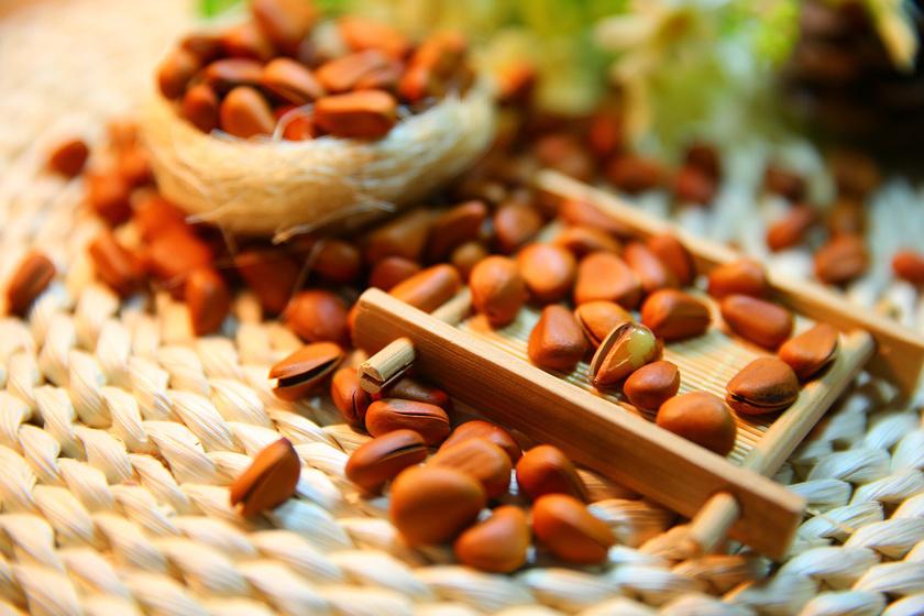A fenyőmag jórészt szaturálatlan zsírokból áll. Ezenkívül nagy mennyiségű E-vitamint és vasat, valamint úgynevezett pinolenic zsírsavat is tartalmaz, mely csökkenti az étvágyat.