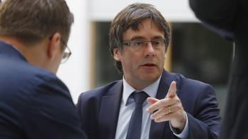 Puigdemont Berlinben: Brüsszelben folytatom a szervezkedést