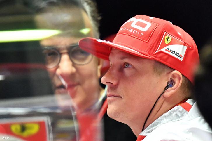 Marchionne és Räikkönen