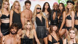 Paris Hilton fehérneműbemutatón imitált DJ-zést