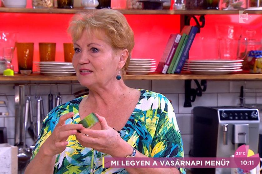 Bay Évát a FEM3 Café műsorába is gyakran elhívják főzni.