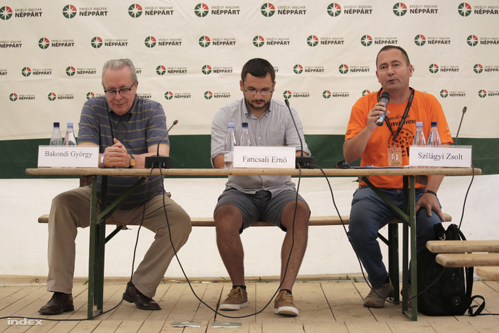 Bakondi György, Fancsali Ernő és Szilágyi Zsolt