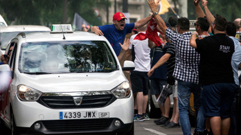Barcelonában megint nagy a balhé az Uber miatt