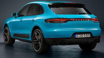 Itt a ráncfelvarrt kis Porsche-SUV