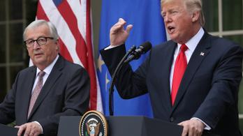 Trump: Új szakasz kezdődik Washington és az EU kapcsolatában