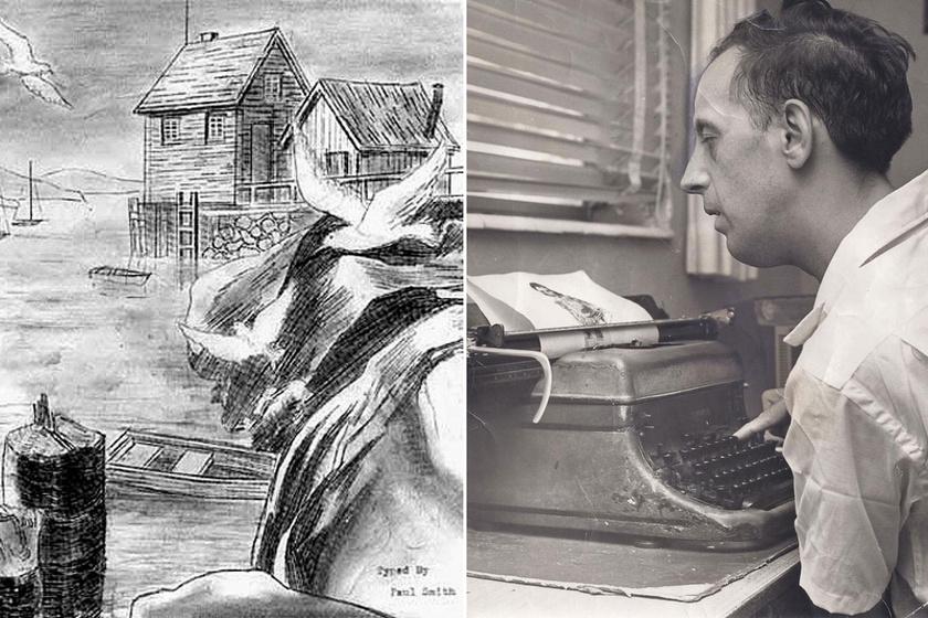 Egyetlen ujját mozgatta az írógépen, zseniális képeket készített a beteg férfi