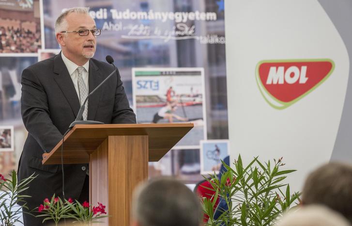 Hernádi Zsolt, a Mol-csoport elnök-vezérigazgatója