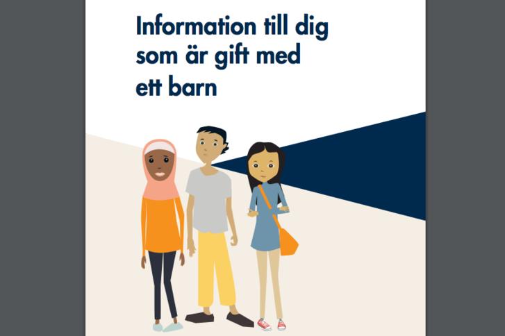 A svéd tájékozatató füzet borítója