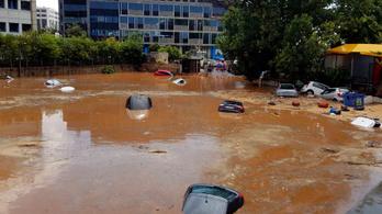 Hatalmas áradás volt Athénban