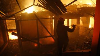 Miniszter: Illegális házak miatt lett ennyi áldozata a görögországi tűznek