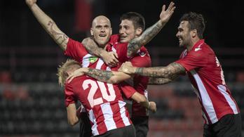 EL-selejtező: 82. perces góllal verte luxemburgi ellenfelét a Honvéd