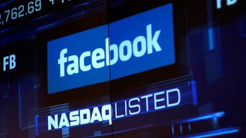 A Facebook negatív történelmi csúcsot állított be az amerikai tőzsdén