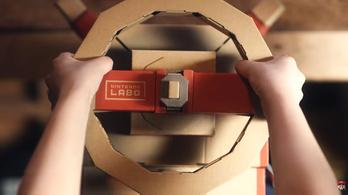 Új kartonokkal bővül a Nintendo Labo