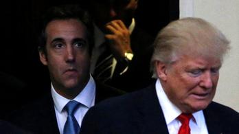 Nagy bajba hozta Trumpot saját ügyvédje