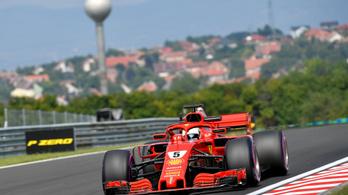 Vettel-Red Bull-csatával indult a magyar F1-hétvége