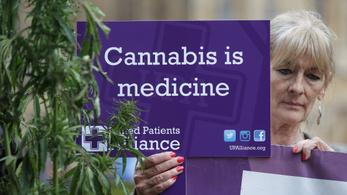 Legalizálták az orvosi marihuánát Nagy-Britanniában