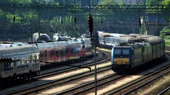 Nem volt jegye, lebénult a Budapest-Miskolc vasúti közlekedés