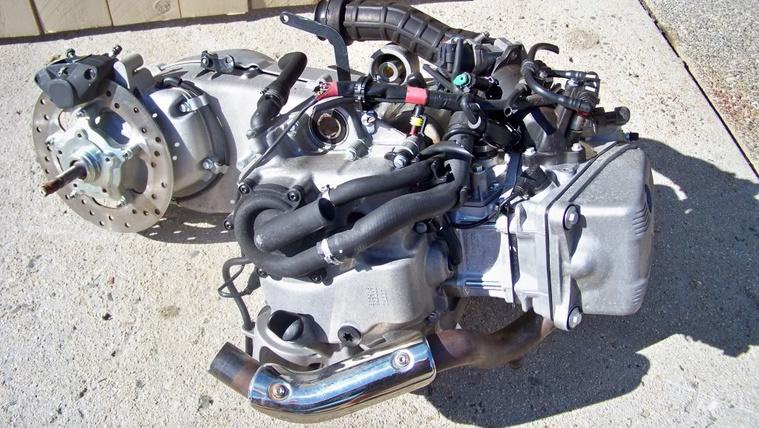 Piaggio 500cc MASTER engine 107 7114