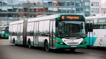 Ingyenes lett a buszozás majdnem egész Észtországban
