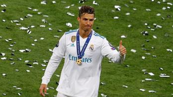 Ronaldo megegyezett a spanyol adóhatósággal, 19 millió eurója bánja