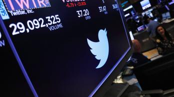 Még a Facebook csütörtöki buktájánál is nagyobbat zuhant a Twitter