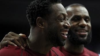 LeBron James és Dwyane Wade újra együtt
