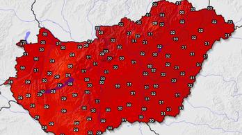 Tombol a hőség, vasárnaptól érvényben a Vörös kód