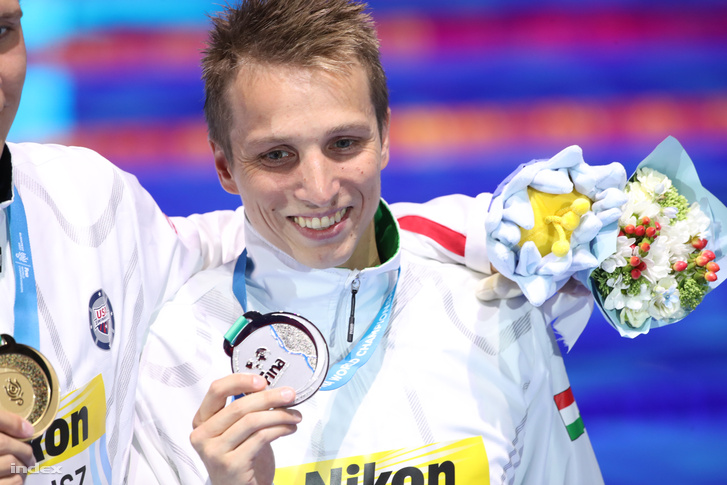 Verrasztó Dávid a 2017-es úszó Vb-n