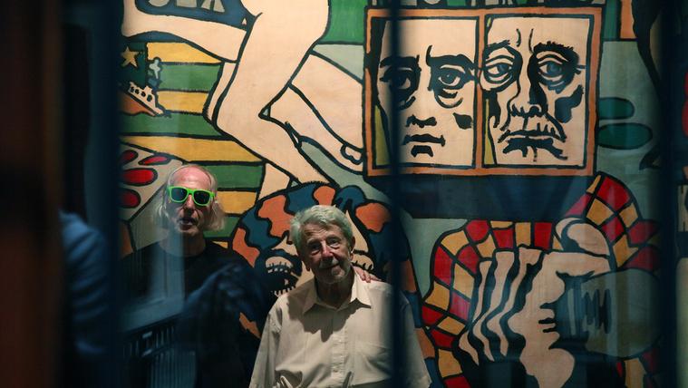 Erotikus, újbalos freskó, amin a NER kultúrharca találkozik a kommunistákéval