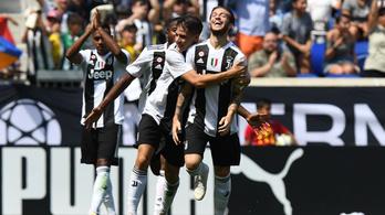 Akkora gólt rúgott a Juve ismertelen fiatalja, mintha ő lenne CR