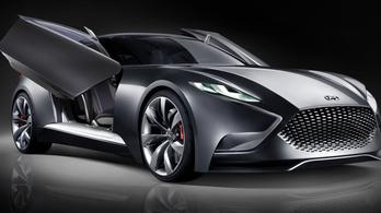 Csúcssportautóval készül a Hyundai