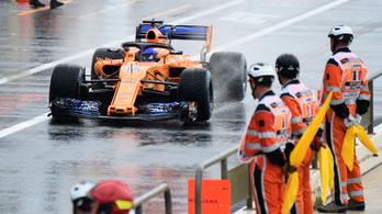 Alonso: Rakétát is tehettek a kocsira, akkor se leszünk gyorsabbak