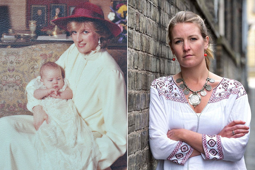 Lady Edwina Grosvenor Gerald Grosvenor, Westminster hatodik hercege - Károly herceg unokatestvére - és Natalia Grosvenor lánya. Edwina szőke haja, hosszúkás arcformája, kék szeme, komoly tekintete emlékeztet Dianára.